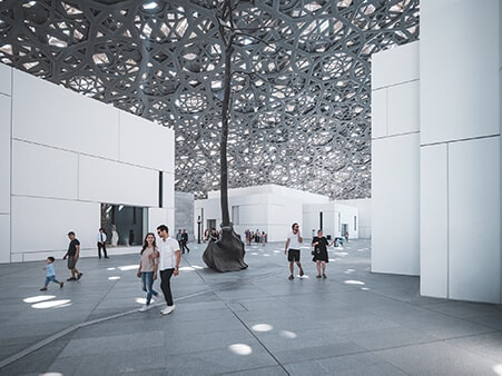 Louvre Abu Dhabi, a place for all ages.